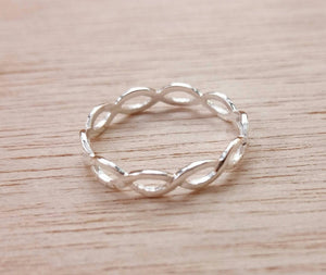 Sterling Silver Ring - Ring - AlphaVariable