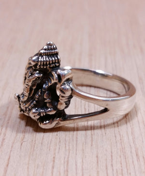Ganesha Ring - Ring - AlphaVariable