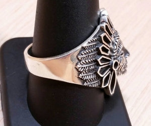 Native American Indian Chief Ring - Ring - AlphaVariable