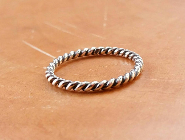 Twisted Rope Ring - Ring - AlphaVariable