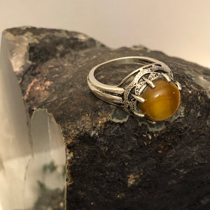 Tiger's Eye Ring - Ring - AlphaVariable