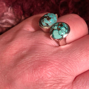 Turquoise Infinity Ring - Ring - AlphaVariable