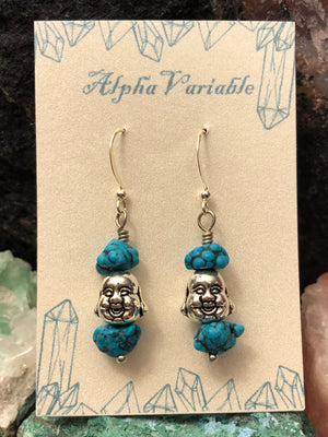 Buddha Earrings - Earrings - AlphaVariable