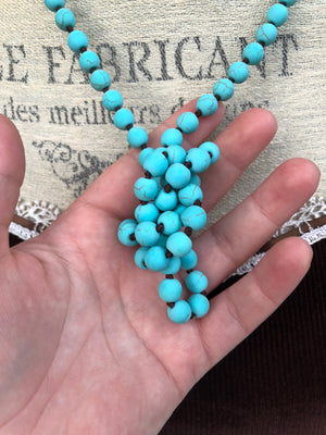 Turquoise Necklace - Necklace - AlphaVariable