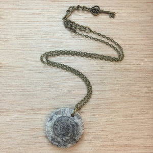 Fossil Necklace - Necklace - AlphaVariable