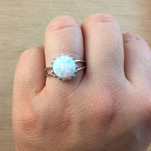 Opal Crown Ring - Ring - AlphaVariable