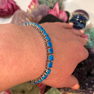 Blue Opal Bracelet - Bracelet - AlphaVariable