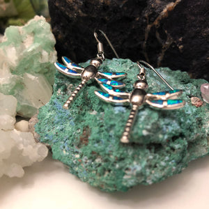 Dragonfly Earrings - Earrings - AlphaVariable