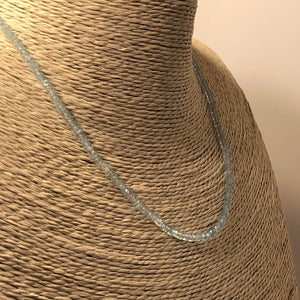 Blue Topaz Necklace - Necklace - AlphaVariable