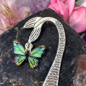 Butterfly Mermaid Bookmark - Bookmark - AlphaVariable