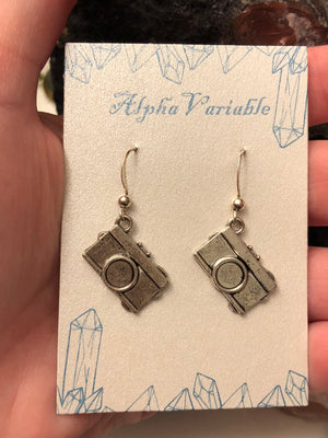 Camera Earrings - Earrings - AlphaVariable