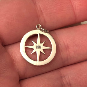 Compass Rose Necklace - Necklace - AlphaVariable