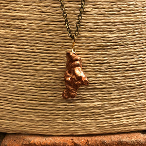 Copper Nugget Necklace - Necklace - AlphaVariable