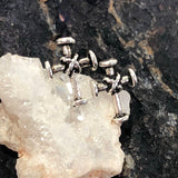 Cross Earrings - Earrings - AlphaVariable