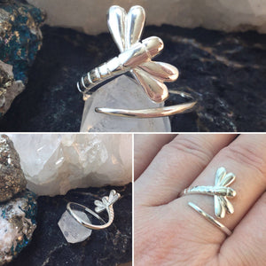 Dragonfly Ring - Ring - AlphaVariable
