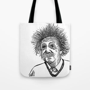 Einstein Tote Bag - Tote Bag - AlphaVariable