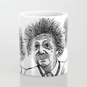 Albert Einstein Coffee Mug - Coffee Mug - AlphaVariable