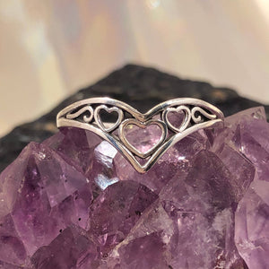 Filigree Heart Ring - Ring - AlphaVariable