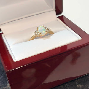 diamond engagement ring 14 k rose gold