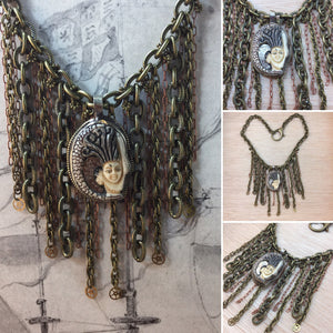 Steampunk Aphrodite Necklace - Necklace - AlphaVariable