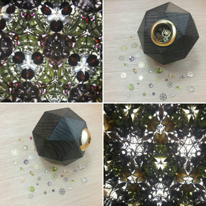 Triacontakaioctagon Gemstone & Gear Kaleidoscope - Kaleidoscope - AlphaVariable