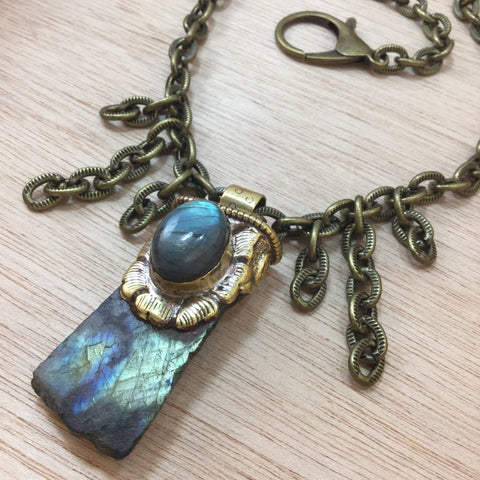 Labradorite Necklace - Labradorite Necklaces - AlphaVariable
