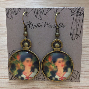 Frida Kahlo Earrings - Earrings - AlphaVariable
