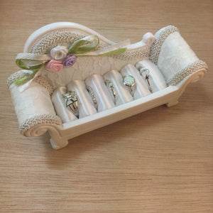 Recamier Ring Organizer - Jewelry Display - AlphaVariable