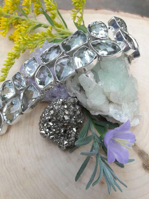 Green Amethyst Bracelet -  - AlphaVariable