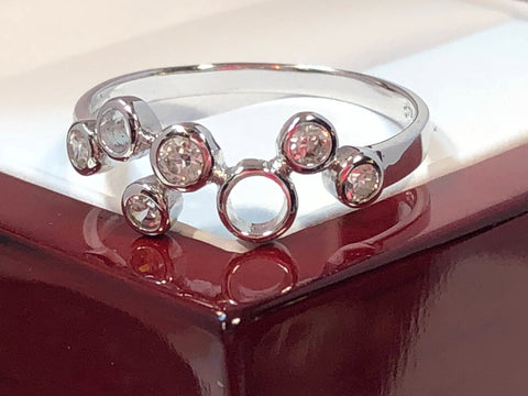 sterling silver stars constellation rings ring