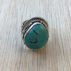 Turquoise Ring - Ring - AlphaVariable