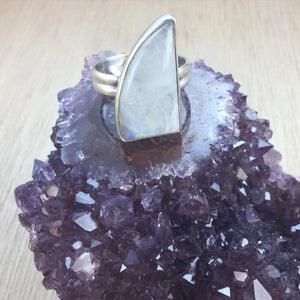 #Moonstone #Ring #AlphaVariable #Jewelry