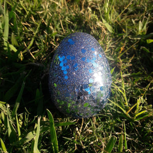 Opal Earrings + Glitter Egg Gift Box -  - AlphaVariable