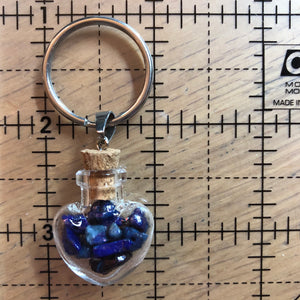 Crystal Bottle Keychain - Keychain - AlphaVariable