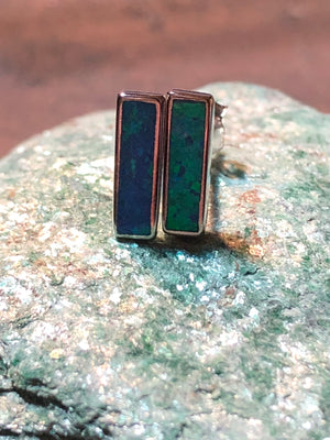 Opal Bar Earrings