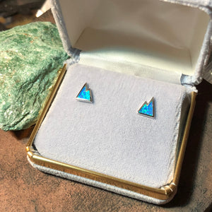 Opal Mountain Earrings -  - AlphaVariable