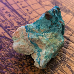 Chrysocolla Crystal -  - AlphaVariable