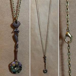 Mermaid Spoon Necklace -  - AlphaVariable