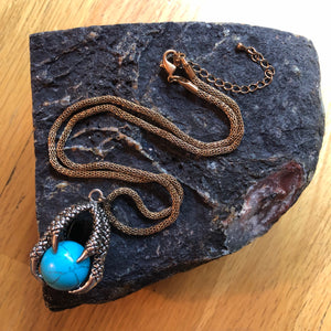 Dragon Claw Howlite Necklace -  - AlphaVariable
