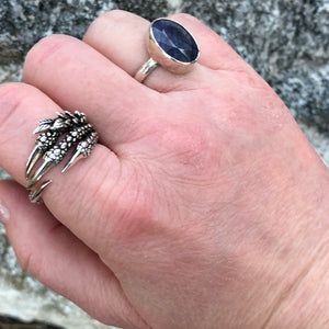Sterling Silver Sapphire Ring -  - AlphaVariable
