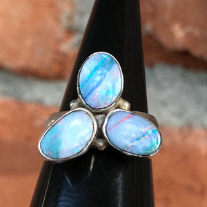 Boulder Opal Ring - Ring - AlphaVariable