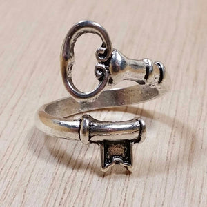 Skeleton Key Ring - base metal ring - AlphaVariable