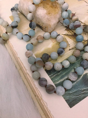 Amazonite Crown Necklace - Necklace - AlphaVariable