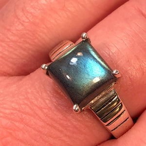 Labradorite Ring - Ring - AlphaVariable