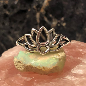 Lotus Flower Ring - Ring - AlphaVariable