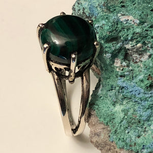 Malachite Ring - Ring - AlphaVariable