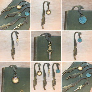 Pocket Watch Key Mermaid Bookmark - Bookmark - AlphaVariable