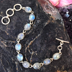 Moonstone Bracelet - Bracelet - AlphaVariable
