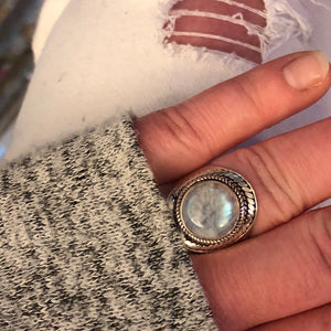 Moonstone Ring - Ring - AlphaVariable