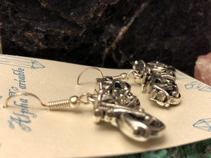 Motorcycle Earrings - Earrings - AlphaVariable